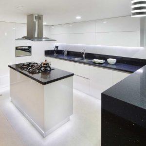 Cocinas Modernas - de Alta Gama - Blancas - Milestone