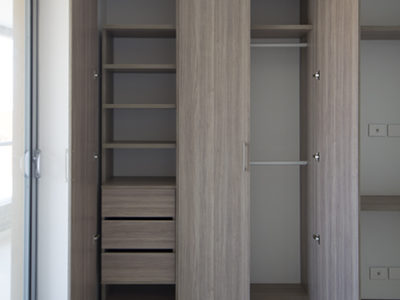 Closets Modernos - abiertos - Miliestone