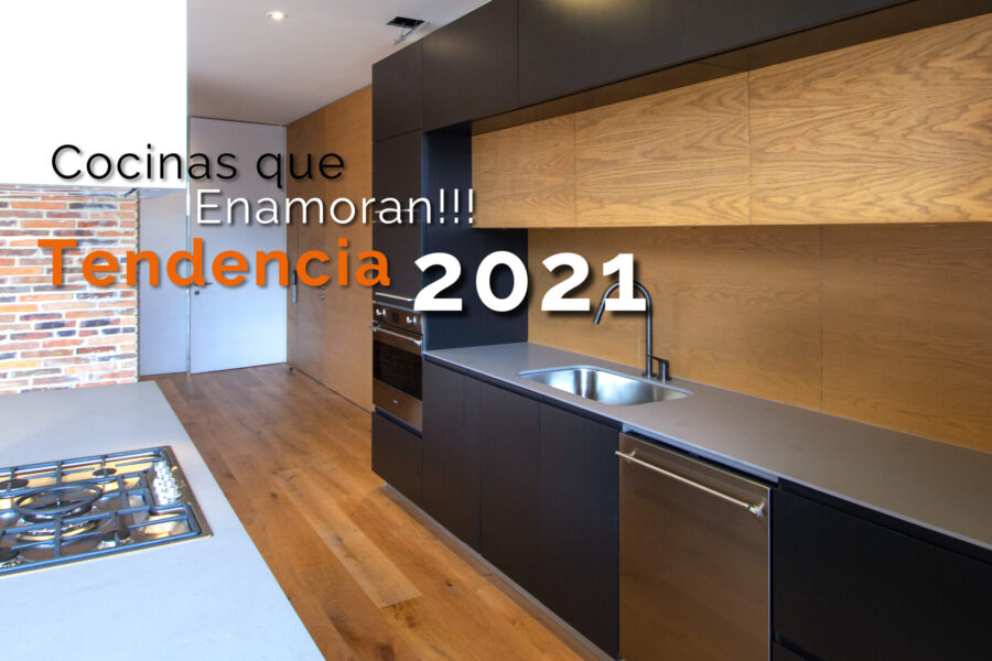 Cocinas que enamoran!!! Tendencia 2021